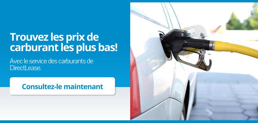 Carburant bon marché - DirectLease Service de réservoirs